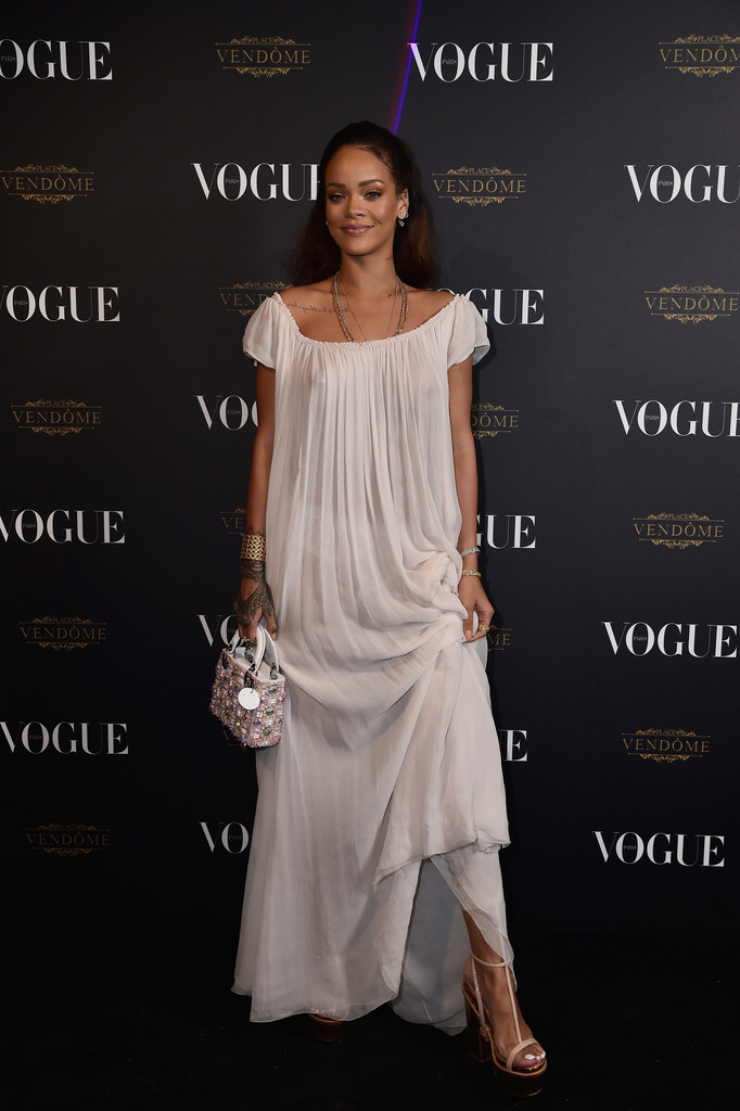 Rihanna Rihanna Photos Vogue 95th Anniversary Party