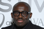 Edward Enninful attends Vogue Fashion Festival Photocall At Hotel Potocki In Paris on November 15, 2019 in Paris, France.
