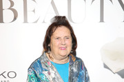 Suzy Menkes attends the Vogue Italia Cocktail Party during the Milan Fashion Week Spring/Summer 2020 on September 20, 2019 in Milan, Italy.