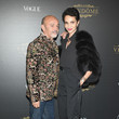 Christian Louboutin and Farida Khelfa Photos