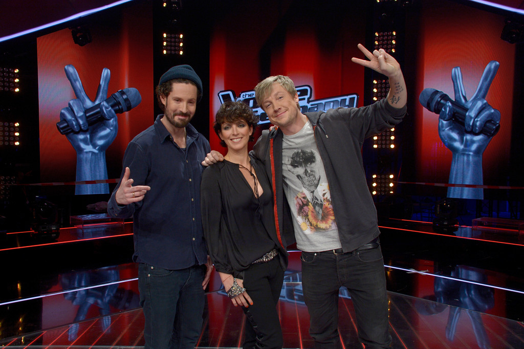 nena photos photos the voice of germany jury photocall. Black Bedroom Furniture Sets. Home Design Ideas