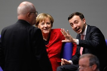 Volker Kauder Bundestag Meets for First Time Since Coalition Failure