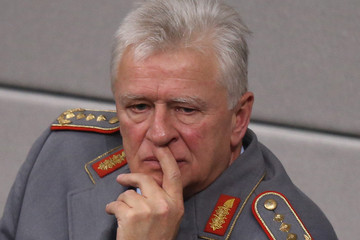 Volker Wieker Bundestag Votes on Syria Military Intervention