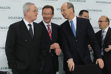 Michael Macht Volkswagen AG Presents Financial Results For 2010