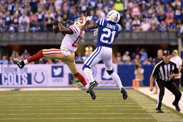 Vontae Davis San Francisco 49ers v Indianapolis Colts