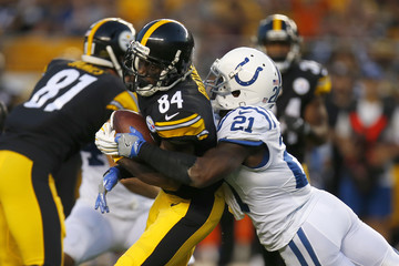 Vontae Davis Indianapolis Colts v Pittsburgh Steelers