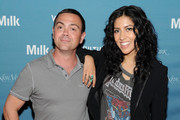 Actor Joe Lo Truglio and Actress Stephanie Beatriz attends Vulture Festival presented by New York Magazine at Milk Studios on May 11, 2014 in New York City.