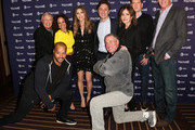 Ken Jenkins, Judy Reyes, Sarah Chalke, Zach Braff, Bill Lawrence, Christa Miller, Neil Flynn, Donald Faison and John C. McGinley attend 'Scrubs Reunion' during the 2018 Vulture Festival Los Angeles at The Hollywood Roosevelt Hotel on November 17, 2018 in Los Angeles, California.