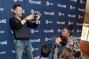 Alison Brie, Danny Pudi, Ken Jeong, Yvette Nicole Brown, and Joel McHale arrive at the Vulture Festival Los Angeles 2019 Day 2 at Hollywood Roosevelt Hotel on November 10, 2019 in Hollywood, California.