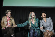 (L-R) Cameron Esposito, Dascha Polanco and Susan Kelechi Watson speak onstage Vulture Festival Presented By AT&T at The Roosevelt Hotel on November 09, 2019 in Hollywood, California.
