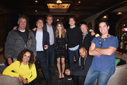 John C. McGinley Sarah Chalke Photos Photo