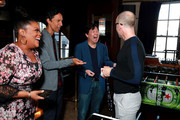 (L-R) Yvette Nicole Brown, Danny Pudi, Ken Jeong and Jim Rash in the Heineken Green Room at Vulture Festival Presented By AT&T at The Roosevelt Hotel on November 10, 2019 in Hollywood, California.