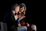 New York Magazine Editor-in-Chief Adam Moss and Jennifer Egan speak on stage during  Vulture Festival Presented By AT&T: ONE BOOK, ONE NEW YORK, ONE EVENT at Milk Studios on May 19, 2018 in New York City.