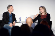 Editor-in-chief at New York magazine (L) and novelist Jennifer Egan attends Vulture Festival presented by AT&T: One Book, One New York at Milk Studios on May 19, 2018 in New York City.