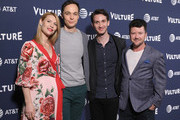 Actor Claire Danes, Actor Jim Parsons, Writer Daniel Pearle, Director Silas Howard, and Actor Claire Danes of A Kid Like Jake attend Day Two of the Vulture Festival Presented By AT&T at Milk Studios on May 20, 2018 in New York City.