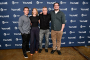 (L-R) Jonathan Groff, Anna Torv, Holt McCallany, and Cameron Britton of Mindhunter attend Day Two of the Vulture Festival Presented By AT&T at Milk Studios on May 20, 2018 in New York City.