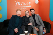 (L-R)  Jesse Tyler Ferguson, David France, and Justin Mikita attend The Vulture Spot presented by Amazon Fire TV 2020 at The Vulture Spot on January 26, 2020 in Park City, Utah.
