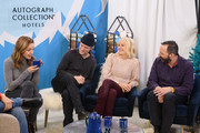 Jordana Spiro, Shea Whigham, Malin Akerman and Tony Hale attend The Vulture Spot during Sundance Film Festival on January 25, 2019 in Park City, Utah.