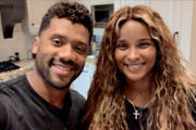In this screengrab, (L-R) Russell Wilson and Ciara speak during All In WA: A Concert For COVID-19 Relief on June 24, 2020 in Washington.