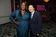 """Loni Love and Ken Jeong attend WCRF's """"An Unforgettable Evening"""" at the Beverly Wilshire Four Seasons Hotel on February 28, 2019 in Beverly Hills, California."""