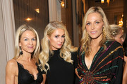 """(L-R) Crystal Lourd, Paris Hilton and WCRF Co-Founder Jamie Tisch attend WCRF's """"An Unforgettable Evening"""" at the Beverly Wilshire Four Seasons Hotel on February 28, 2019 in Beverly Hills, California."""