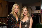 """WCRF Co-Founder Jamie Tisch and Rita Wilson attend WCRF's """"An Unforgettable Evening"""" at the Beverly Wilshire Four Seasons Hotel on February 28, 2019 in Beverly Hills, California."""