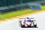 REBELLION RACING in the Rebellion R13 in the Gibson and Gibson driven by Neel Jani of Switzerland, Andre Lotterer of Germany and Bruno Senna of Brazil competes during Final Free Practice session in the WEC 6 Hours Of Spa-Francorchamps at Circuit de Spa-Francorchamps on May 4, 2018 in Spa, Belgium.