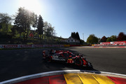 REBELLION RACING in the Rebellion R13 in the Gibson and Gibson driven by Neel Jani of Switzerland, Andre Lotterer of Germany and Bruno Senna of Brazil competes during Qualifying session in the WEC 6 Hours Of Spa-Francorchamps at Circuit de Spa-Francorchamps on May 4, 2018 in Spa, Belgium.