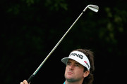 Bubba Watson of the USA hits his tee-shot on the fourth hole during the final round of the WGC - HSBC Champions at the Sheshan International Golf Club on November 3, 2013 in Shanghai, China.