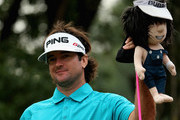 Bubba Watson of the USA in action during the final round of the WGC - HSBC Champions at the Sheshan International Golf Club on November 3, 2013 in Shanghai, China.