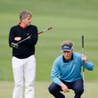 Bernhard Langer and Wraith Grant Photos