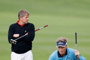 Bernhard Langer and Wraith Grant Photos Photo