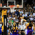 Maya Moore Photos - Maya Moore #23 of the Minnesota Lynx hits a lay up against the Los Angeles Sparks late in the fourth quarter of Game One of the WNBA finals at Williams Arena on September 24, 2017 in Minneapolis, Minnesota. - WNBA Finals - Game One
