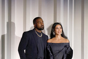 Kanye West and Kim Kardashian West are seen onstage during the WSJ. Magazine 2019 Innovator Awards sponsored by Harry Winston and Rémy Martin at MOMA on November 06, 2019 in New York City.