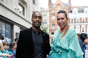 Simon Webbe and Jelena Jankovic attend the annual WTA Pre-Wimbledon Party at The Roof Gardens, Kensington  on June 29, 2017 in London, United Kingdom.