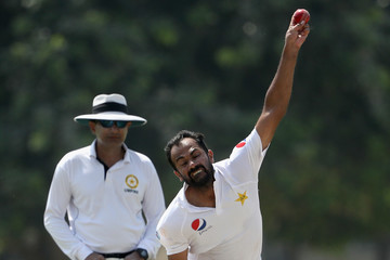 Wahab Riaz Pakistan A vs. Australia: Tour Match - Day Three