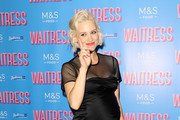 "Kimberly Wyatt attends the ""Waitress"" media night at Adelphi Theatre on July 02, 2019 in London, England."