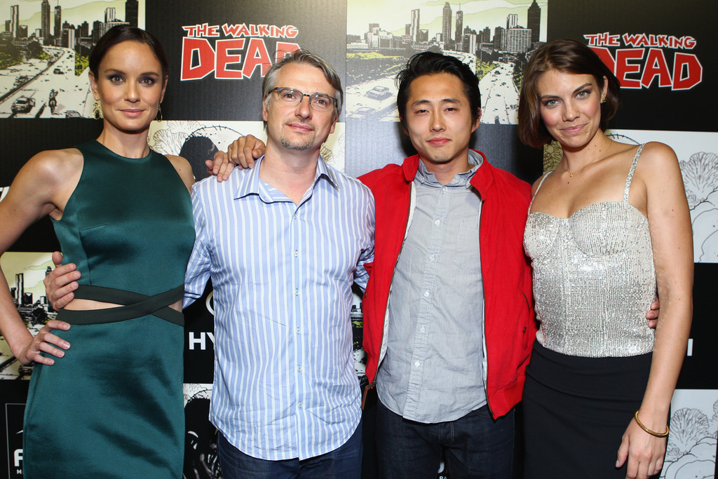 Maggie Greene Will Be Just Fine... I Hope | HuffPost  |Steven Yeun And Lauren Cohan Engaged