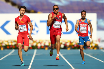 Wallace Spearmon IAAF World Athletics Championships: Day 7