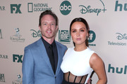 Matthew Alan (L) and Camilla Luddington attend The Walt Disney Company 2020 Golden Globe Awards Post-Show Celebration at The Beverly Hilton Hotel on January 05, 2020 in Beverly Hills, California.