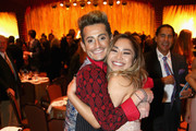 Tv personality Frankie Grande (L) and Singer/tv personality Jessica Sanchez attend The Walt Disney Family Museum's 2nd Annual Gala at Disney's Grand Californian Hotel & Spa at The Disneyland Resort on November 1, 2016 in Anaheim, California.