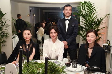 Wang Likun Dior Dinner Arrivals - The 71st Annual Cannes Film Festival