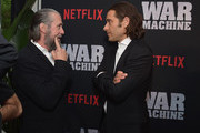 """Actor Alan Ruck and producer Jeremy Kleiner attends a special screening of the Netflix original film """"War Machine"""" at The Metrograph on May 16, 2017 in New York City."""