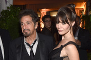 Actor Al Pacino and Lucila Sola attend the Warner Bros. Pictures and Dolce & Gabbana TIFF cocktail party during the 2014 Toronto International Film Festival at Momofuku Daisho on September 6, 2014 in Toronto, Canada.