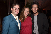 Director David Dobkin, producer Susan Downey and producer Shawn Levy attend the Warner Bros. Pictures and Dolce & Gabbana TIFF cocktail party during the 2014 Toronto International Film Festival at Momofuku Daisho on September 6, 2014 in Toronto, Canada.