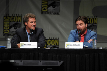 """Will Ferrell Zach Galifianakis Warner Bros. Pictures And Legendary Pictures Preview - """"The Campaign"""" - Comic-Con International 2012"""