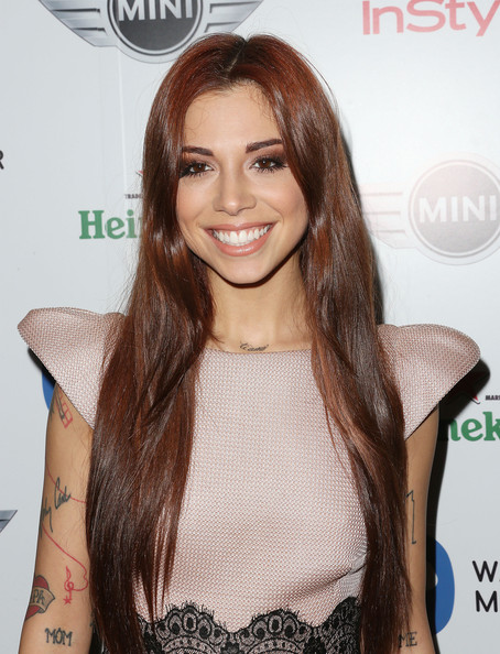 Christina Perri in Warner Music Group's 2013 Grammy ...