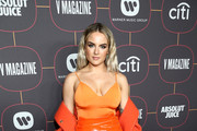 JoJo attends the Warner Music Group Pre-Grammy Party at Hollywood Athletic Club on January 23, 2020 in Hollywood, California.