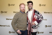 """Jesse Tyler Ferguson and Justin Mikita stop by HBO Films' """"Welcome to Chechnya """"Premiere Party at WarnerMedia Lodge: Elevating Storytelling with AT&T during Sundance Film Festival 2020 on January 25, 2020 in Park City, Utah."""