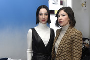 St. Vincent and Carrie Brownstein stop by WarnerMedia Lodge: Elevating Storytelling with AT&T during Sundance Film Festival 2020 on January 25, 2020 in Park City, Utah.